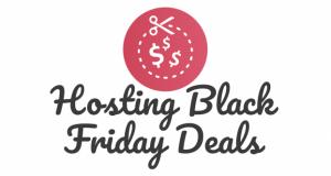 web hosting black friday deals logo