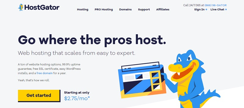 affiliate program review of hostgator