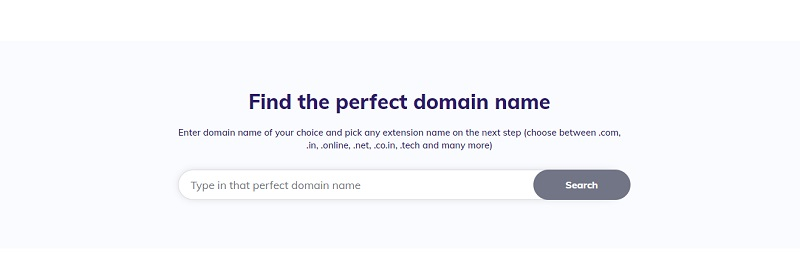 find domain name from hostinger