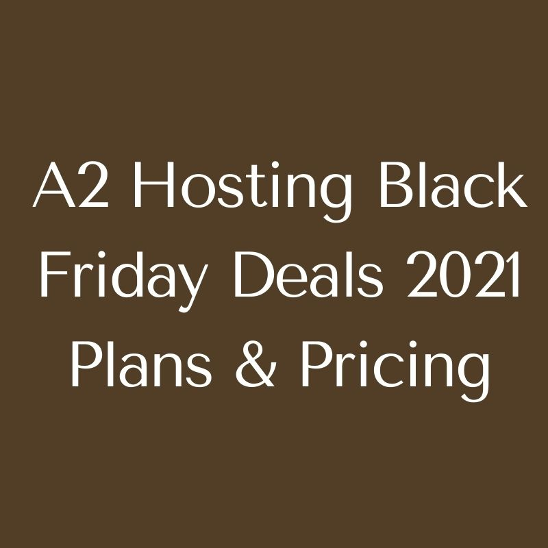 hosting black friday deals plans and pricing