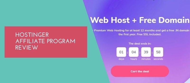hostinger affiliate program details