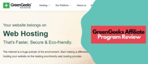 review for greengeeks affiliate program
