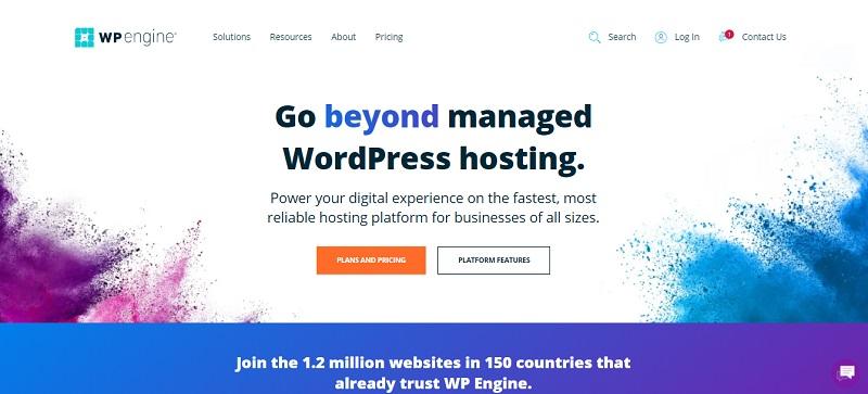 wp engine company for managed wordpress hosting